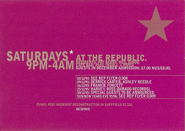 The Republic Saturdays