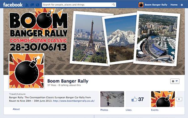 Facebook boom banger rally